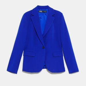 ZARA basic blazer bluish blazer